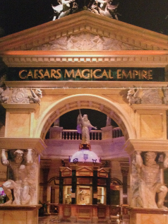 The Outside Of Caesars Magical Empire